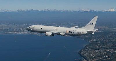 P-8I maritime surveillance aircraft