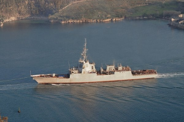 Spanish Navy's Cristobal Colon