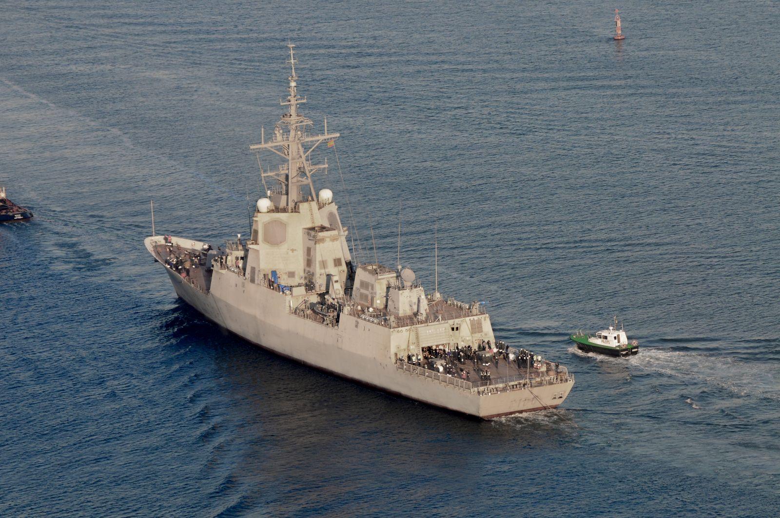 Alvaro de Bazan-class frigate, Cristobal Colon (F-105), for the Spanish Navy