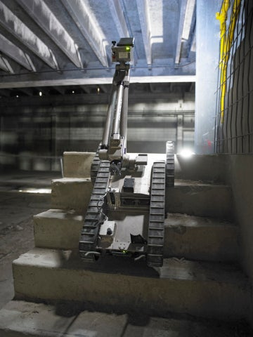 iRobot-built man transportable robotic system (MTRS)