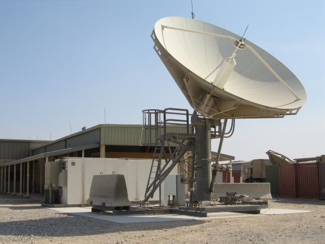 US military's Deployable Ku-Band Earth Terminals (DKET)