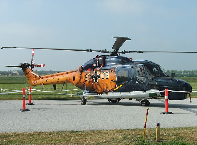 Lynx Mk88A helicopter