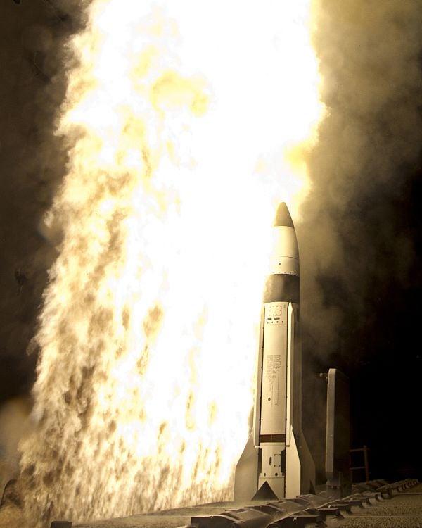 Standard Missile-3 (SM-3) Block 1B interceptor