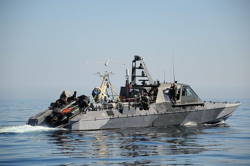 Mark V naval special warfare boat