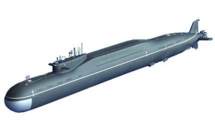 SSBN Yury Dolgoruky Nuclear Submarine