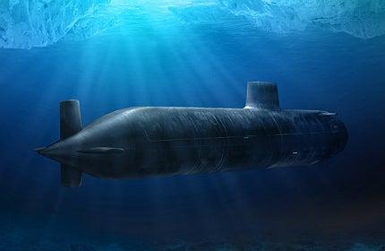 The Royal Navy's Astute Class submarine