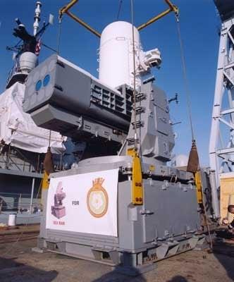 SeaRAM missile