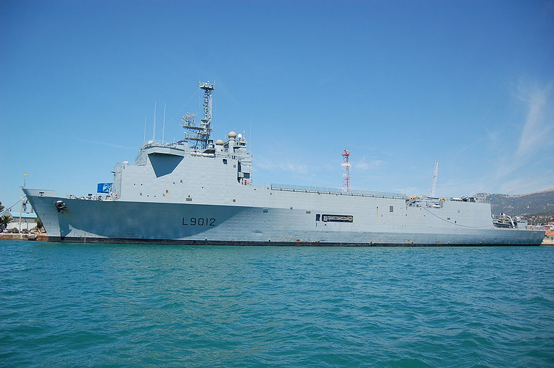 French Navy's second Foudre-class ship