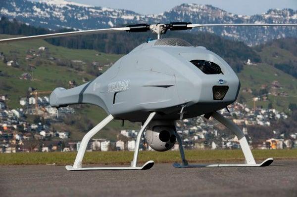 Skeldar V-200 Maritime unmanned aerial vehicle (UAV)