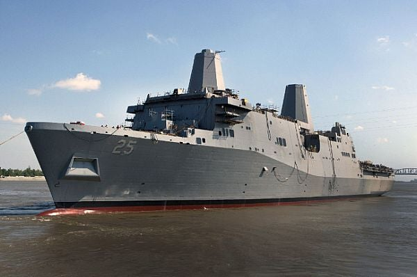 US Navy's San Antonio-class ship, Somerset (LPD 25)