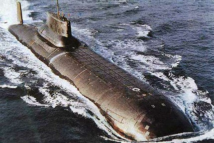 The world's biggest submarines