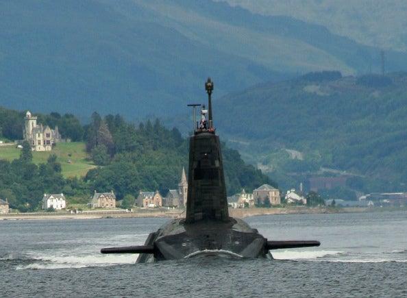 Vanguard-class Trident submarine
