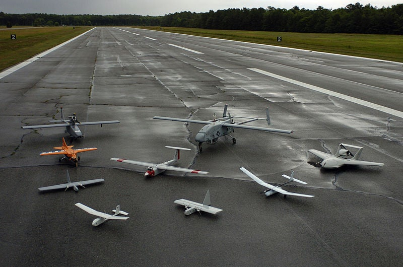 group of unmanned aerial vehicles