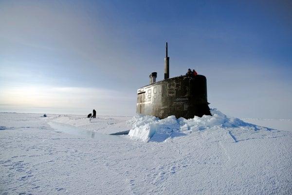 Arctic ice image