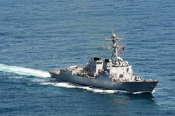 USS McCampbell (DDG 80).
