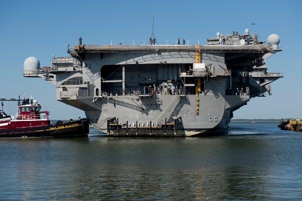 USS Enterprise (CVN 65).