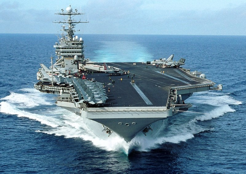 Nimitz-class aircraft carrier USS George Washington's (CVN 73)