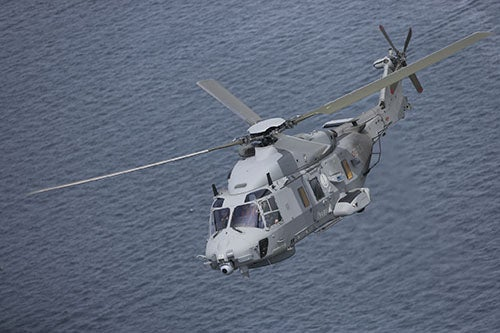FIRST NH90 STEP B helicopter