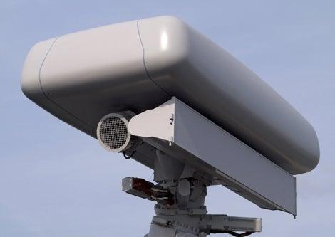 Thales-built Variant surveillance radar