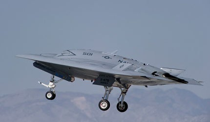 X-47B Unmanned Combat Air System Carrier (UCAS)