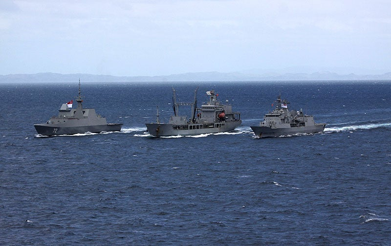 Republic of Singapore Navy (RSN) and the Royal New Zealand Navy (RNZN) ships