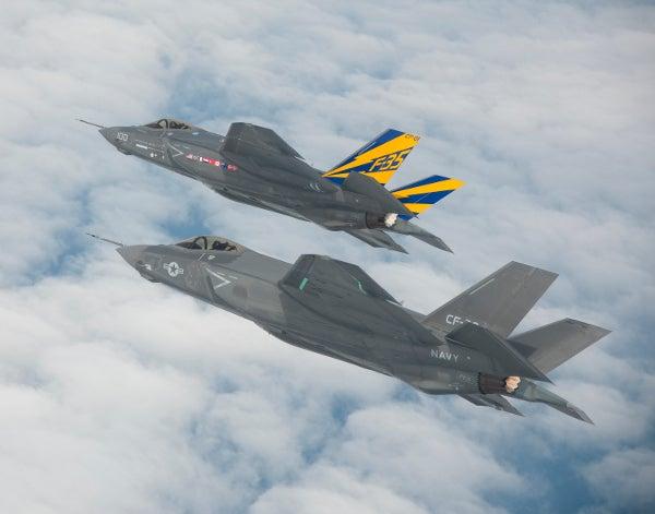 F-35C Lightning II carrier variant test aircraft