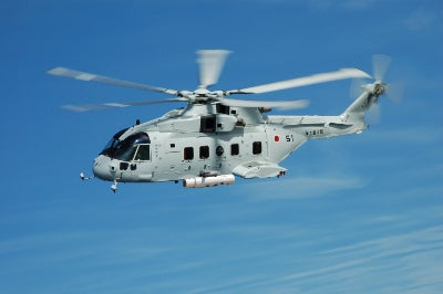 Japan Maritime Force MCH-101 helicopter