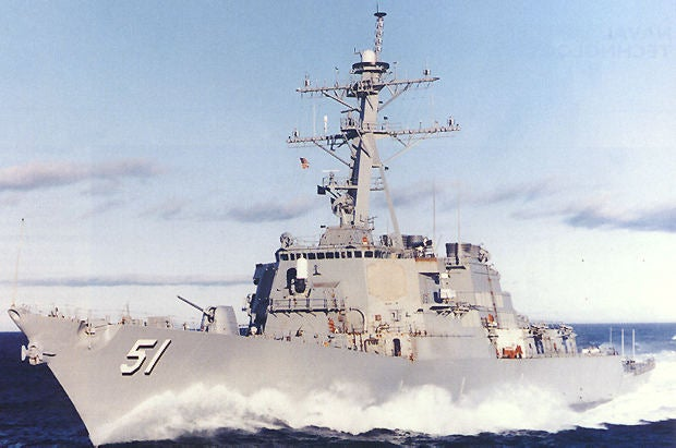 Arleigh Burke-class DDG 51destroyer