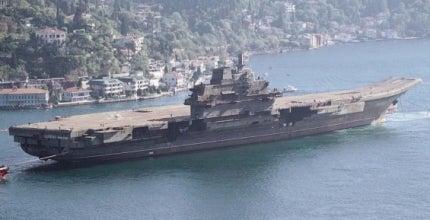 Varyag aircraft carrier