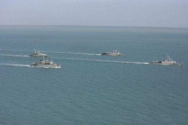 Australian and Indonesian navy vessels