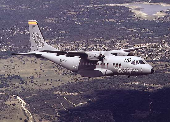 CN-235-300 multi-mission tactical aircraft