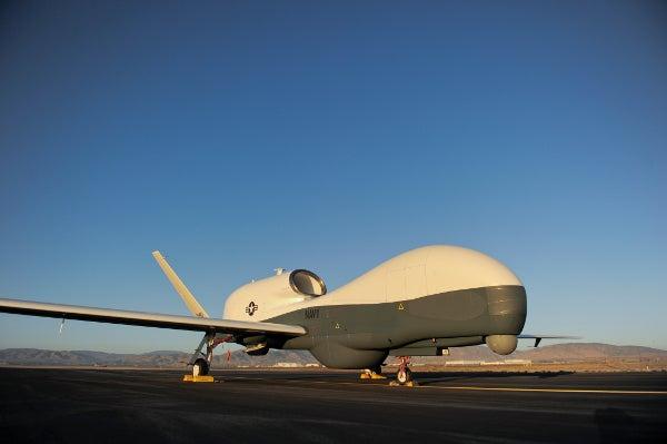 MQ-4C BAMS UAS