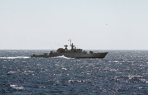 Mowdge-class ships are designed based on the Alvand-class frigates