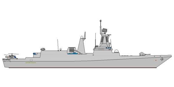 Admiral Gorshkov-class ship