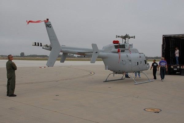 Fire Scout UAV