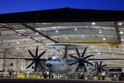 E-2D Advanced Hawkeye aircraft
