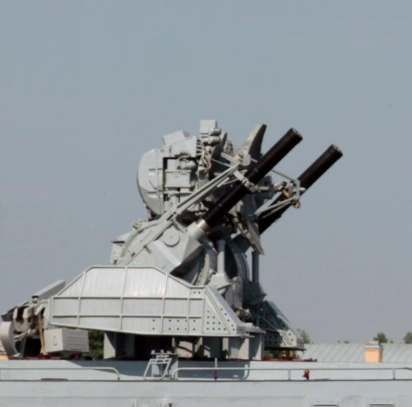 Kashtan anti-aircraft missile/gun system