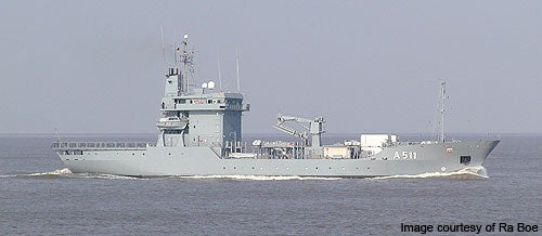 Type 404 Elbe-class support ship
