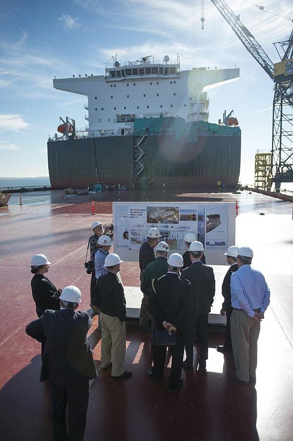 USNS Montford Point's main deck