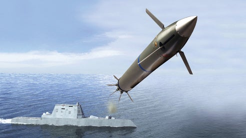 long-range land attack projectil