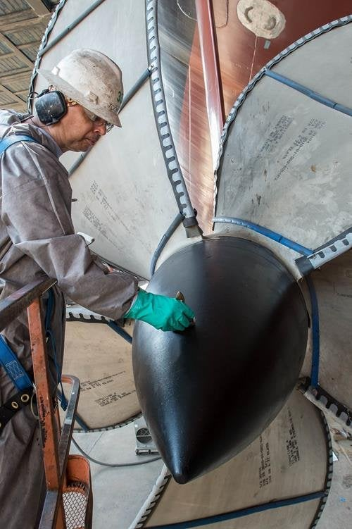 Gerald R. Ford (CVN 78) propeller
