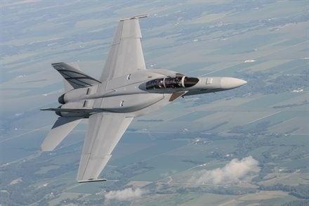 Boeing-built F/A-18 Advanced Super Hornet