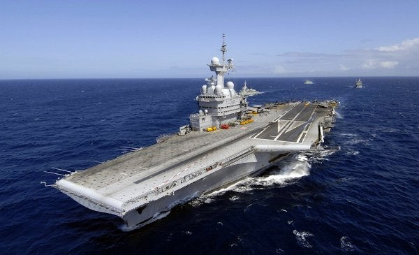 French Navy nuclear-powered aircraft carrier, Charles de Gaulle