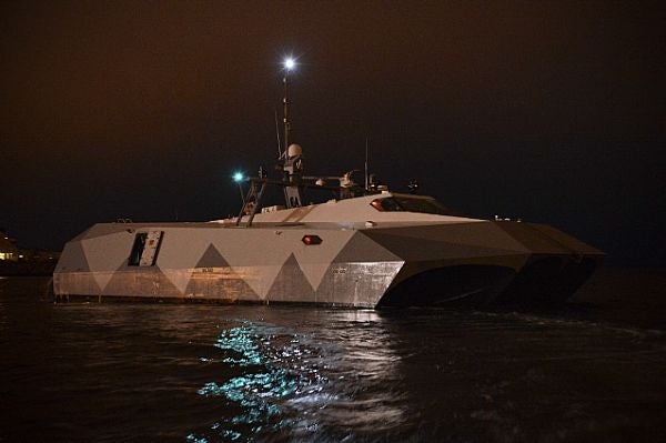 high-speed experimental boat Stiletto