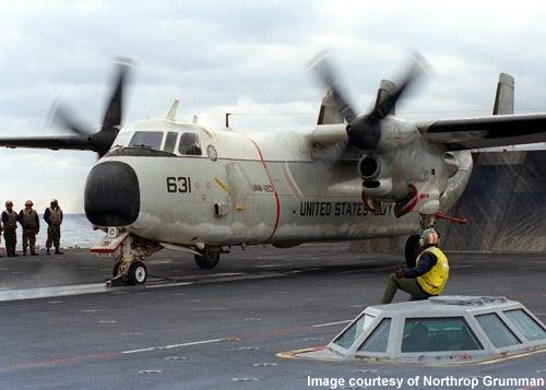 C-2A Greyhound aircraft