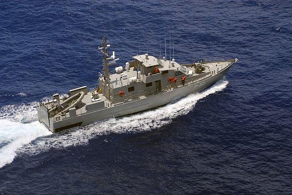 35m-long patrol boat