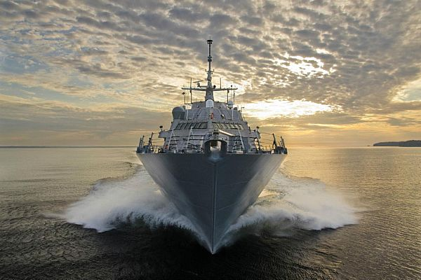 US Navy's LCS ship