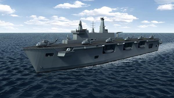 HMAS Canberra.