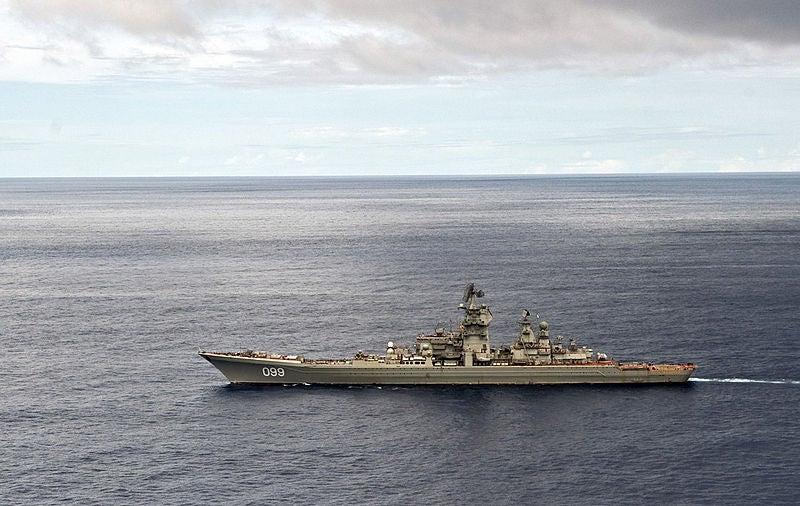 Pyotr Veliky nuclear-powered cruiser