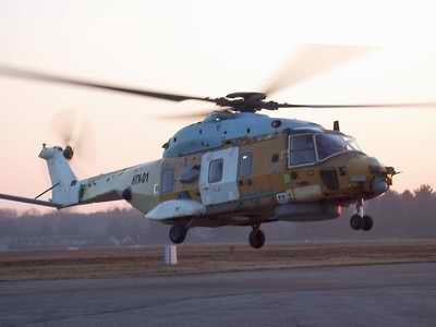 first Italian Navy serial production NH90